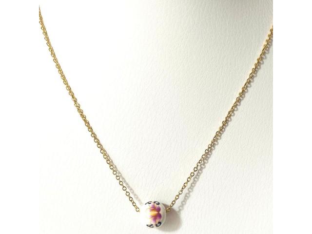 Κολιέ Purple Daisy