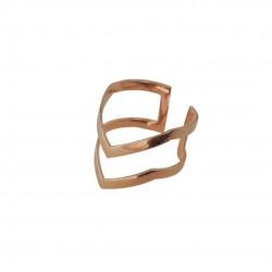 Δαχτυλίδι Rose Gold Arrow