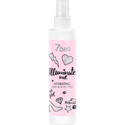 7Days ROSE GIRL Hydrating Mist Hair & Body 180ml