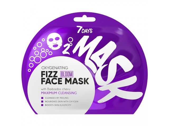 7DAYS BLOOM Maximum Cleansing Sheet Mask 25g