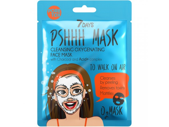 7DAYS PSHHH To Walk On Air Sheet Mask 25g