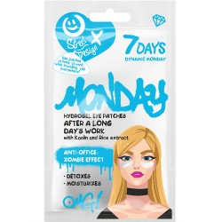 7DAYS Hydrogel eye patches DYNAMIC MONDAY with Kaolin and Rice Extract 2,5 g