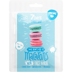 7DAYS CANDY SHOP Macarons Sheet Mask 25g