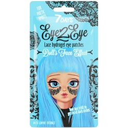 7DAYS EYE-2-EYE Lace Hydrogel Eye Patch Coffee 6g