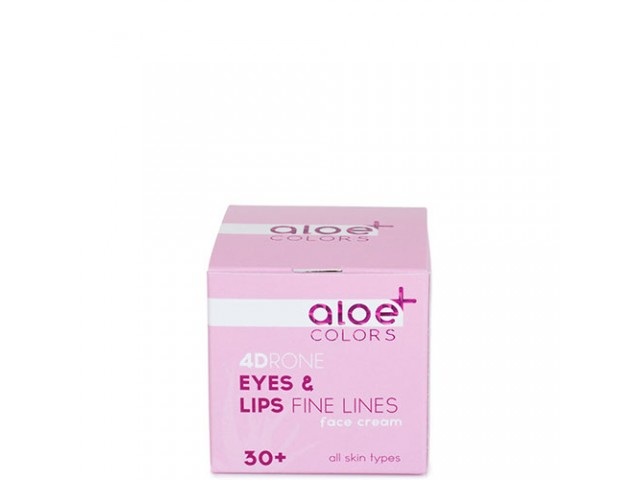 Aloe Plus Eyes and Lips Cream for fine lines Aloe+Colors