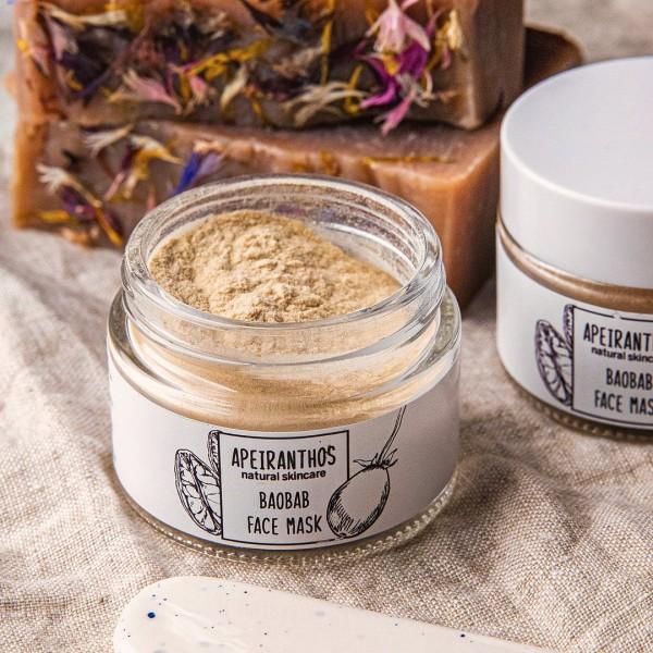 Apeiranthos Baobab mask   Organic baobab powder, 50gr
