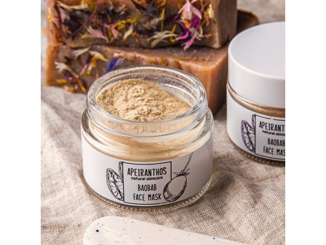 Apeiranthos Baobab mask | Organic baobab powder, 50gr