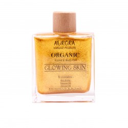 Aurora ORGANIC BODY OIL - GLOWING SKIN, 100ML