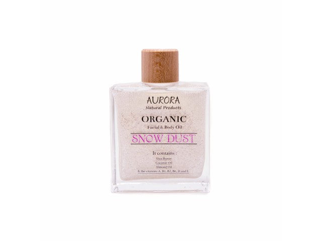 Aurora ORGANIC BODY OIL - SNOW DUST , 100ML