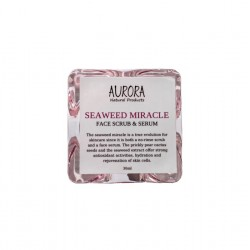 Aurora SEAWEED MIRACLE | FACE SCRUB & SERUM, 30ML