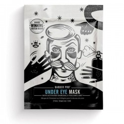 BARBER PRO UNDER EYE MASK (with activated charcoal & volcanic ash)
