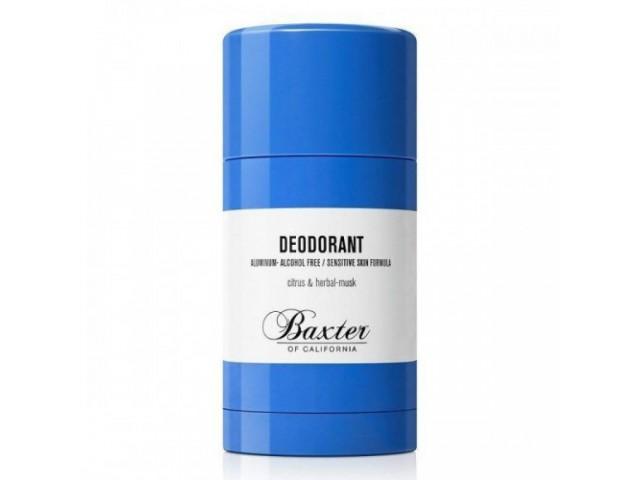Baxter of California deodorant sensitive formula 75g (aluminium-alcohol free)
