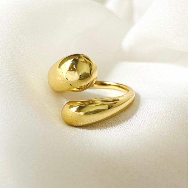 Δαχτυλίδι Gold Drop