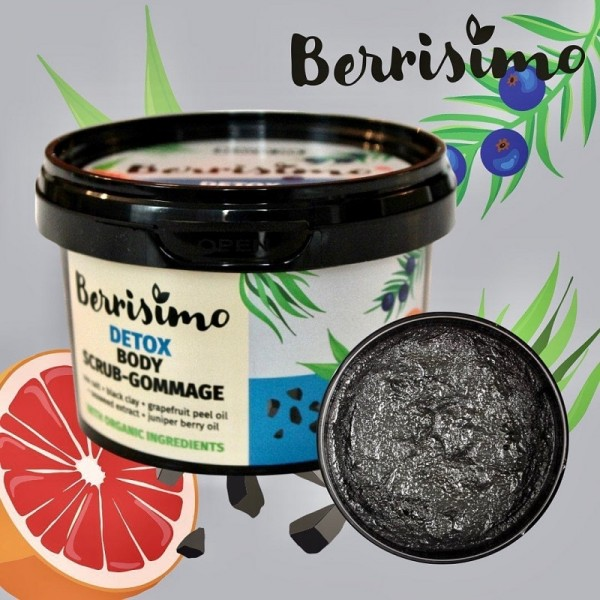 Beauty Jar Berrisimo Detox Body Scrub-Gommage 350gr