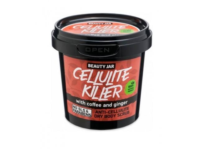 Beauty Jar CELLULITTE KILLER, Scrub κατά της κυτταρίτιδας, 150gr