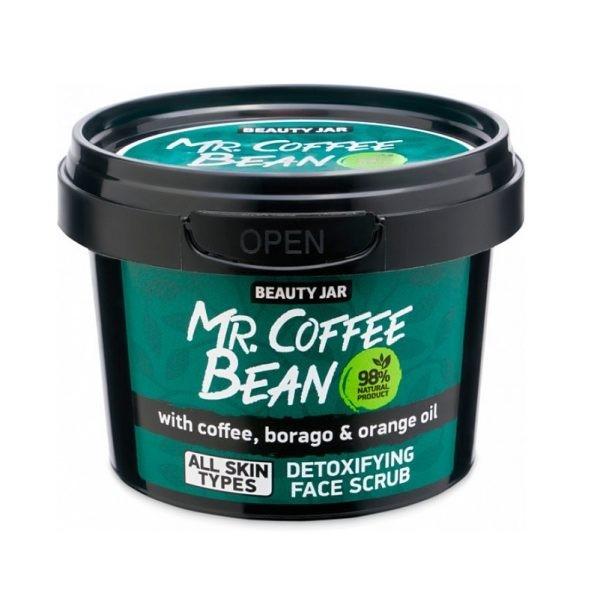 Beauty Jar Mr COFFEE BEAN Scrub Αποτοξίνωσης