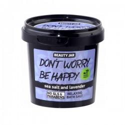 Beauty Jar DON'T WORRY, BE HAPPY Χαλαρωτικά Άλατα Μπάνιου, 200gr