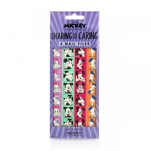 Mad Beauty MICKEY AND FRIENDS 4PK NAIL FILES