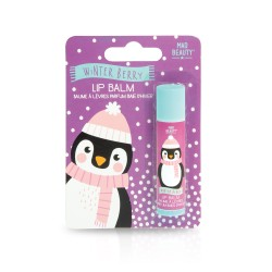 Mad Beauty I love Christmas Lip Balm Penguin- Winter Berry