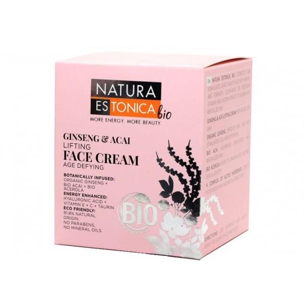 Natura Estonica, Ginseng Acai, Face Cream, 50ml