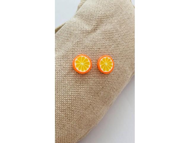 Σκουλαρίκια Πορτοκάλι