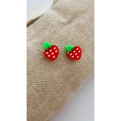 Σκουλαρίκια Φράουλες