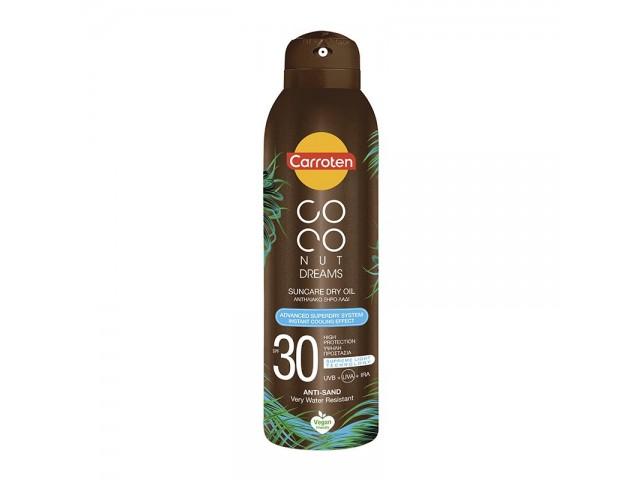 Carroten Coconut Dream Suncare Dry oil, SPF30, 150ml