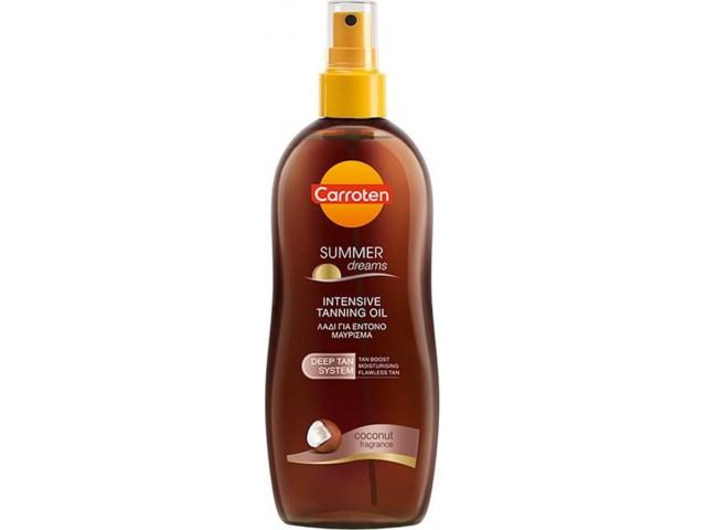 Carroten Summer Dreams Intensive Tanning Oil Coconut, 200ml