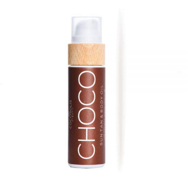 COCOSOLIS ORGANIC CHOCO Sun Tan Body Oil - 110ml