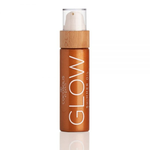 COCOSOLIS ORGANIC GLOW SHIMMER OIL - 110ml