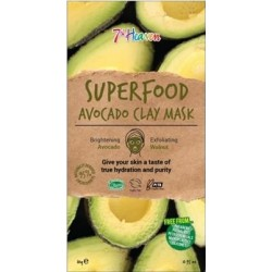 7th Heaven Superfood Avocado Clay Mask, 10g