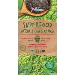7th Heaven Superfood Matcha & Chia Clay Mask 10g