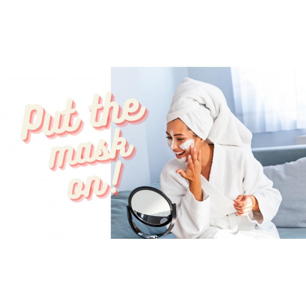Put the Mask on! - ή αλλιώς Φορέστε τη Μάσκα σας !